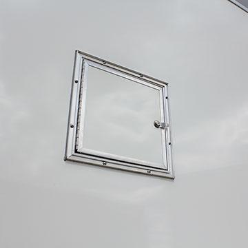 09037 FUEL DOOR ACCESSORY