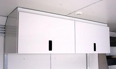 4 Place helmet cabinet