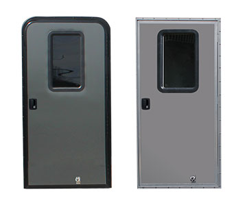 SIDE ACCESS DOORS WITH TINTED WINDOW