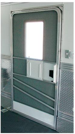 Side Access Screen Door