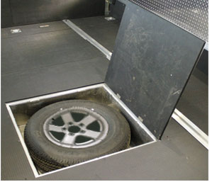 Spare Tire Hinge Kit