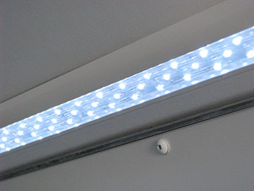 LED Strip Lighting in Cove