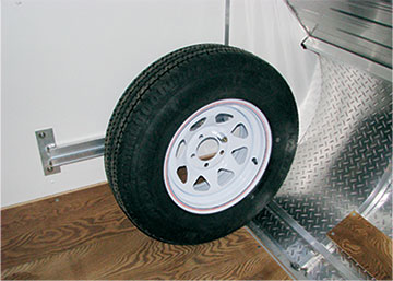 Spare Tire Kit for front of TC