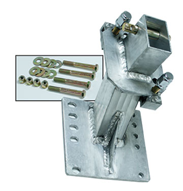 Spare tire carrier for EHHD models