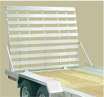 Standard aluminum ramp for UT