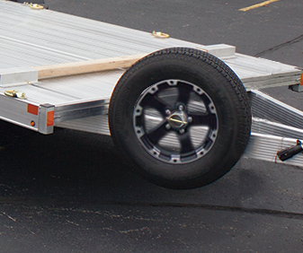 Photo of a spare tire carrier