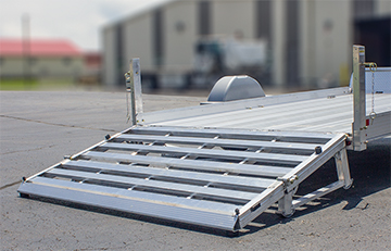 Photo of Heavy Duty Bi-Fold Ramp
