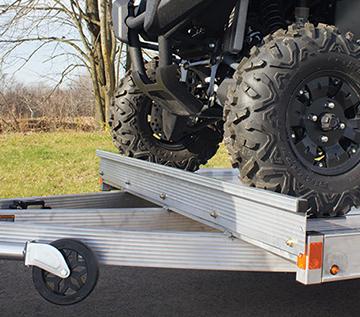 Photo of wheel stop kit
