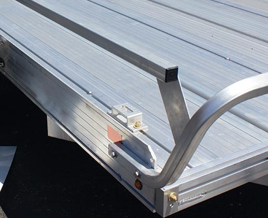 Photo of tall side rail kit for Tilt trailer