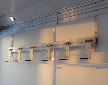 Photo of aluminum hooks