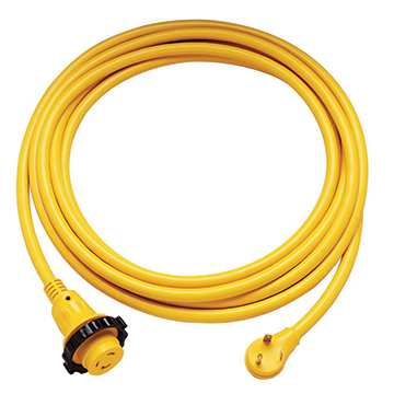 Photo of 30 AMP power cord yellow