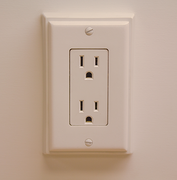 Photo of Interior 15 AMP outlet