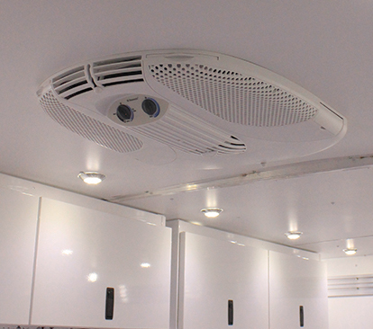 Photo of air conditioning unit in ceiling