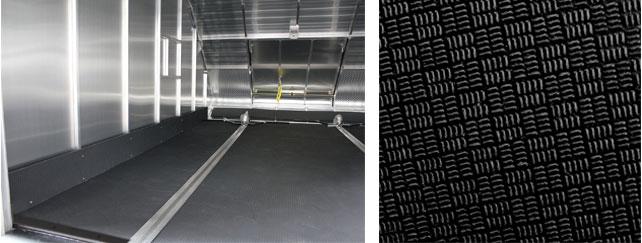 Photo of black quad floor in TC