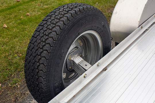 Photo of Spare tire carrier